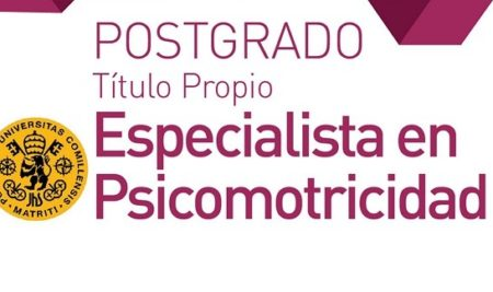Postgrado Especialista en Psicomotricidad-Titulo Propio Universidad Pontificia Comillas